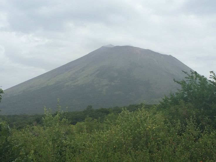 San Cristobal volcano seen from access trail at Versalles Community, Chichigalpa - Chinandega, Nicaragua