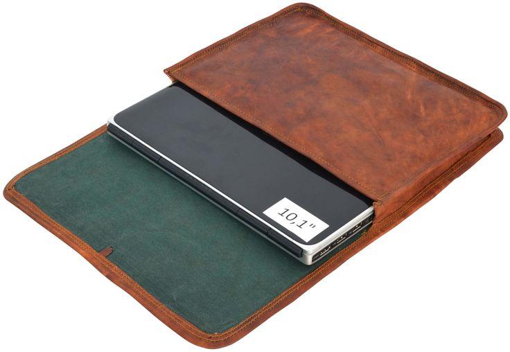 """Wer """"Chuck"""" sagt, muss auch """"Norris"""" sagen, denn unsere Laptoptasche aus Ziegenleder ist noch viel besser und genialer als er. Nie wieder Kratzer und Sorge um das Netbook! Eine Tasche, so stark, dass sie alles Schädliche von Deinem Netbook fernhält. Ein Lederaccessoire, das in toller Form und einem raffinierten Verschluss optisch zu überzeugen weiß - Laptoptasche - Gusti Leder - L9"""