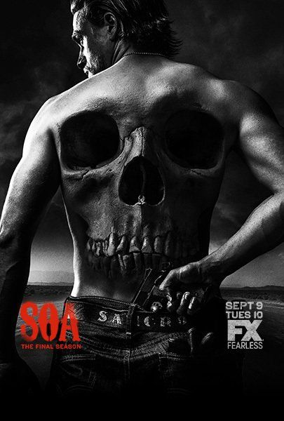 Another series completed in 2015, Sons of Anarchy reveals the inner workings of a biker club in a small US community.