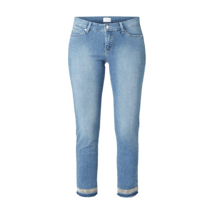 #MAC #Damen #Cropped #Stone #Washed #Skinny #Fit #5-Pocket-Jeans - Damen…
