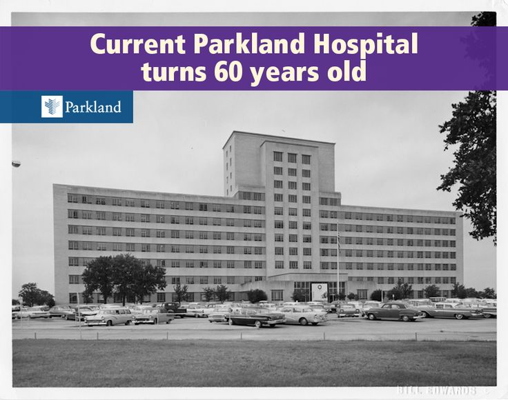 The current Parkland Memorial Hospital opened exactly 60