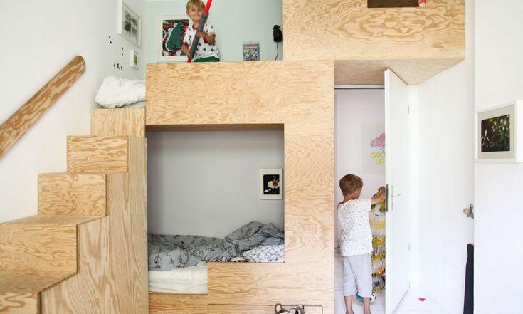 17 meilleures id es propos de custom bunk beds sur pinterest lits superpos s trois. Black Bedroom Furniture Sets. Home Design Ideas