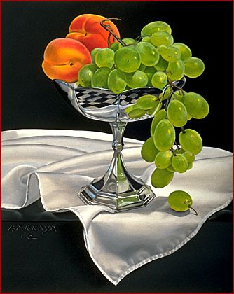 Виноград и абрикосы