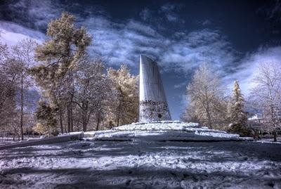 Λάρισα - Το Μνημείο Εθνικής Αντίστασης Photo by Konstantinos Besios (http://kbesios.com/blog/)