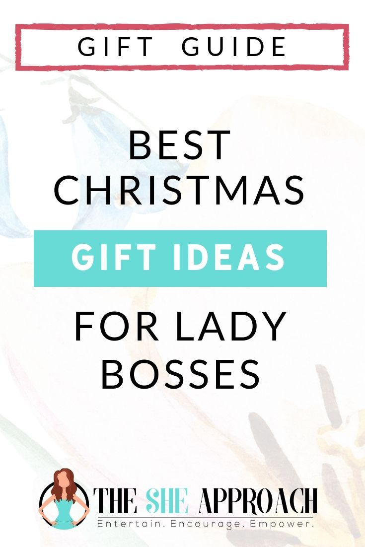 Christmas Gift Ideas For Female Entrepreneurs & Lady Bosses ...