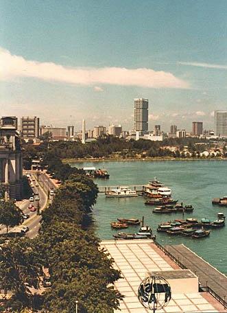 Overlooking the Harbor in Singapore,,  8 x 10 Fine Art Print. $20.00, via Etsy.