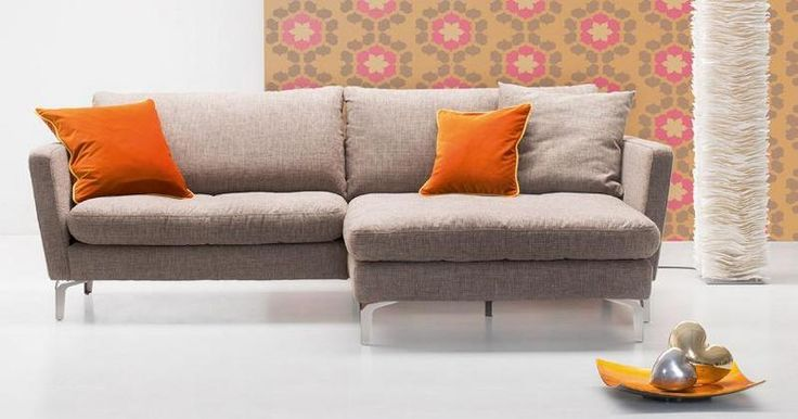 Amarant novos beige hoekbank lounge chaise longuestof rikken