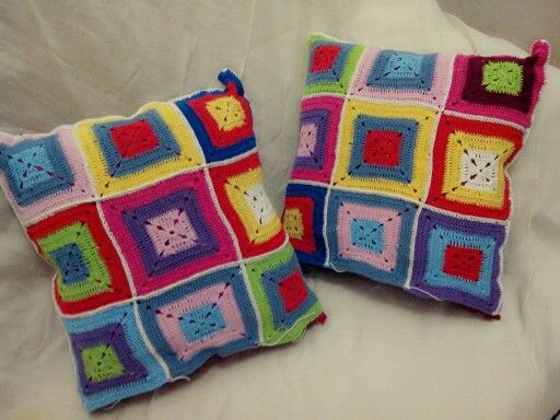 Oma handmade. Pillow.