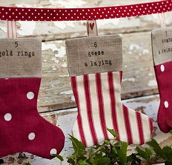 12 days of Christmas bunting