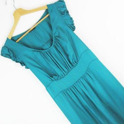 Sukienka marszczenia przy dekolcie FF r.46