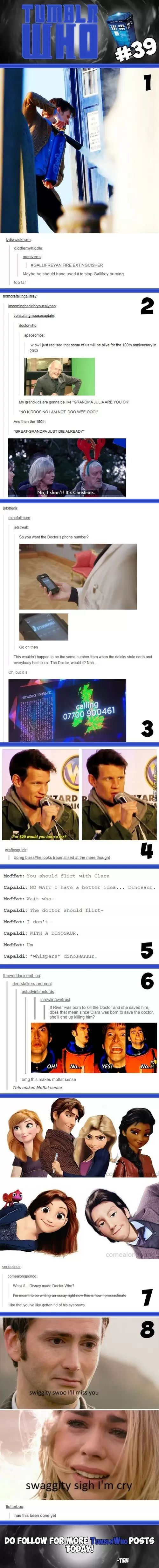 I love how messed up fandom is Tumblr Who #39