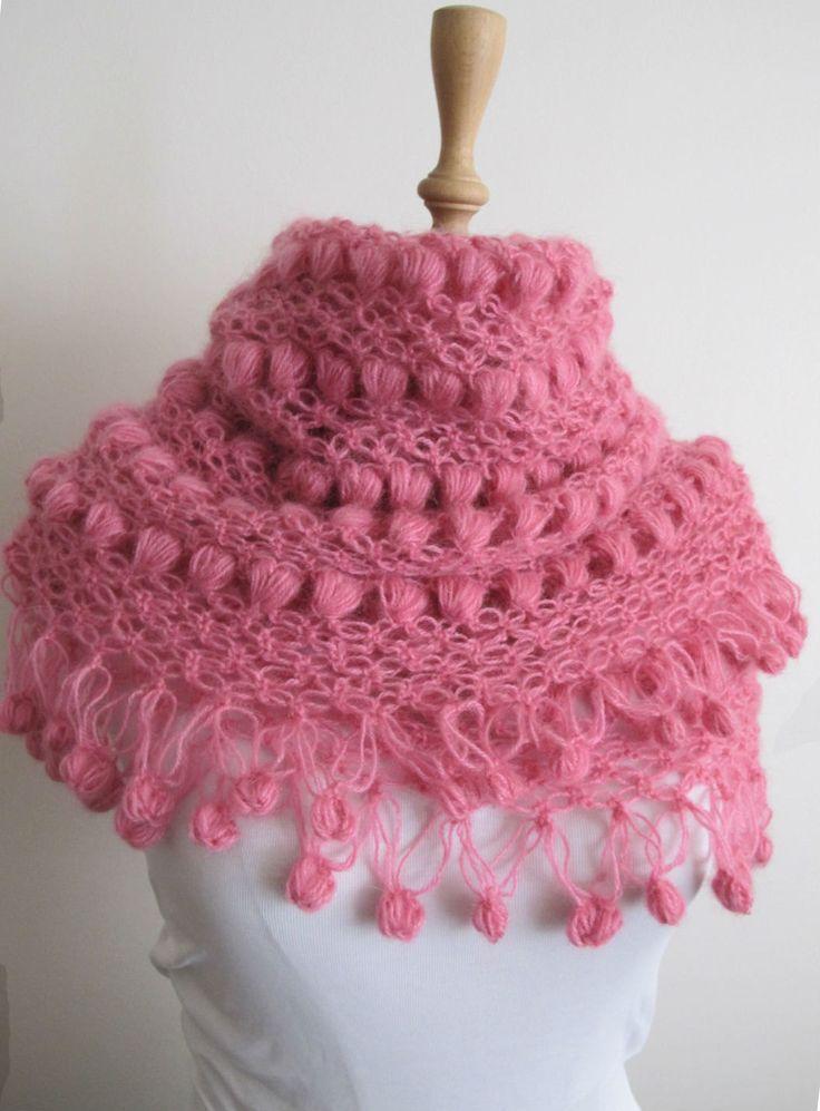 Mejores 49 imágenes de crochet . mohair en Pinterest   Chal de ...