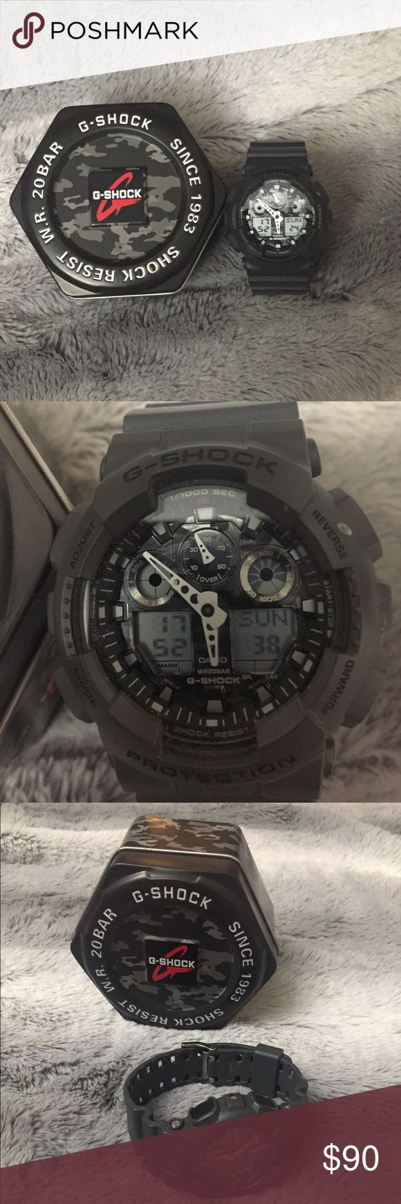 G-Shock Men's Watch - never worn Black G Shock never worn! Great condition G-Shock Accessories Watches