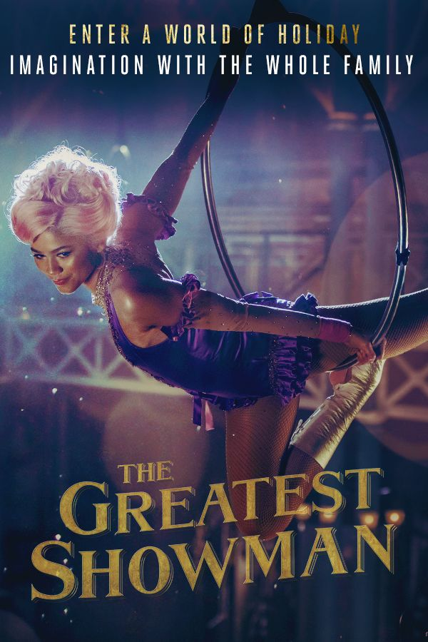 Zendaya takes the stage in The Greatest Showman, NOW PLAYING.