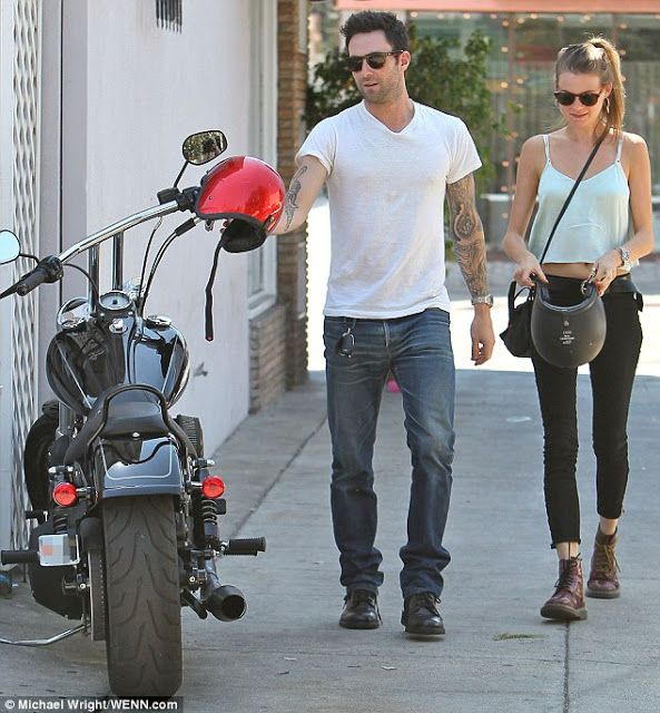 Style Guide CT: Behati Prinsloo Wears Dr Martens, Out With Adam Levine