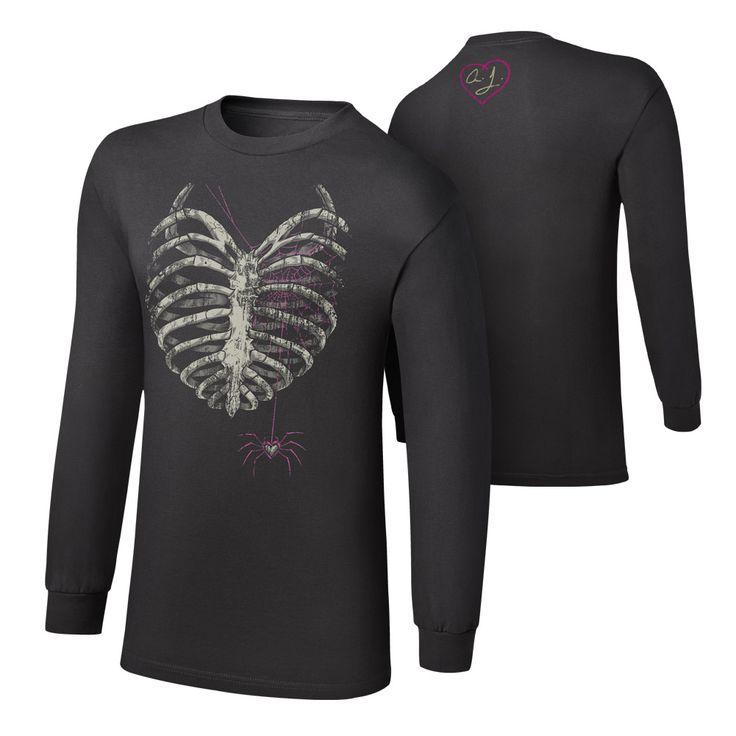 """AJ Lee """"Till Your Last Breath"""" Long Sleeve T-Shirt"""