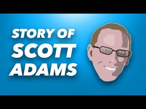 How Scott Adams (Creator of Dilbert) Got Rich | 3 Ideas to Make Extra Money and Be Happier - YouTube
