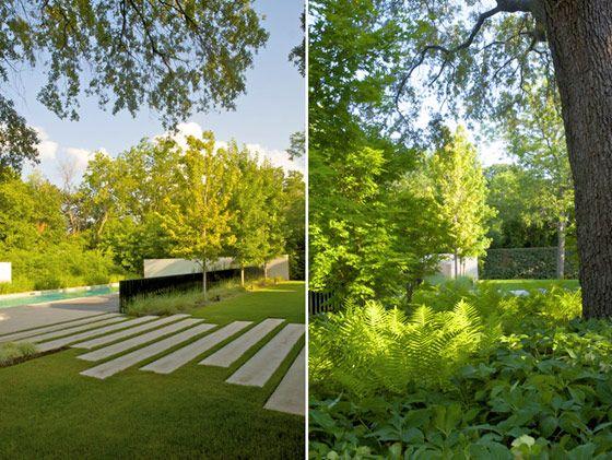 Modern landscaping - Hocker Design Group
