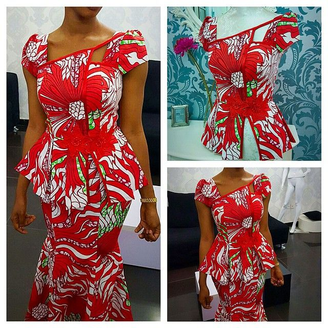 Lovely Aso Ebi Skirt and Blouse Design - LifeStyle.ng