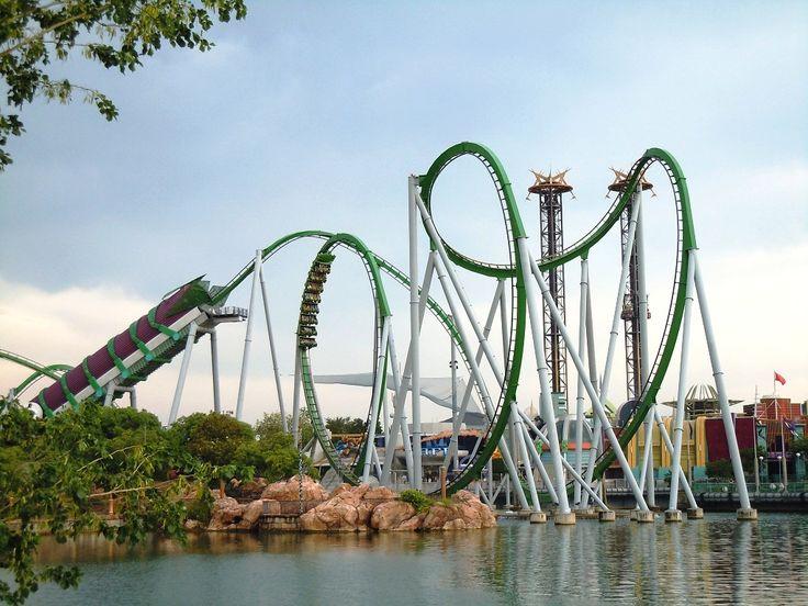Incredible Hulk Ride