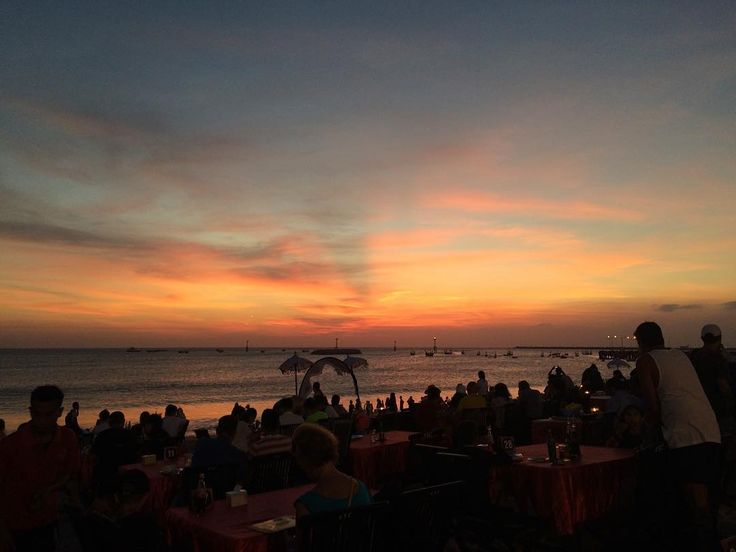 Jimbaran, Bali, Indonesia Perfect for sunset-watching and the best fresh seafood on the island