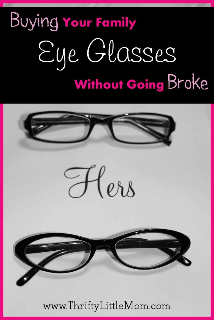 Buying your family eyeglasses doesn't have to be expensive or stressful...