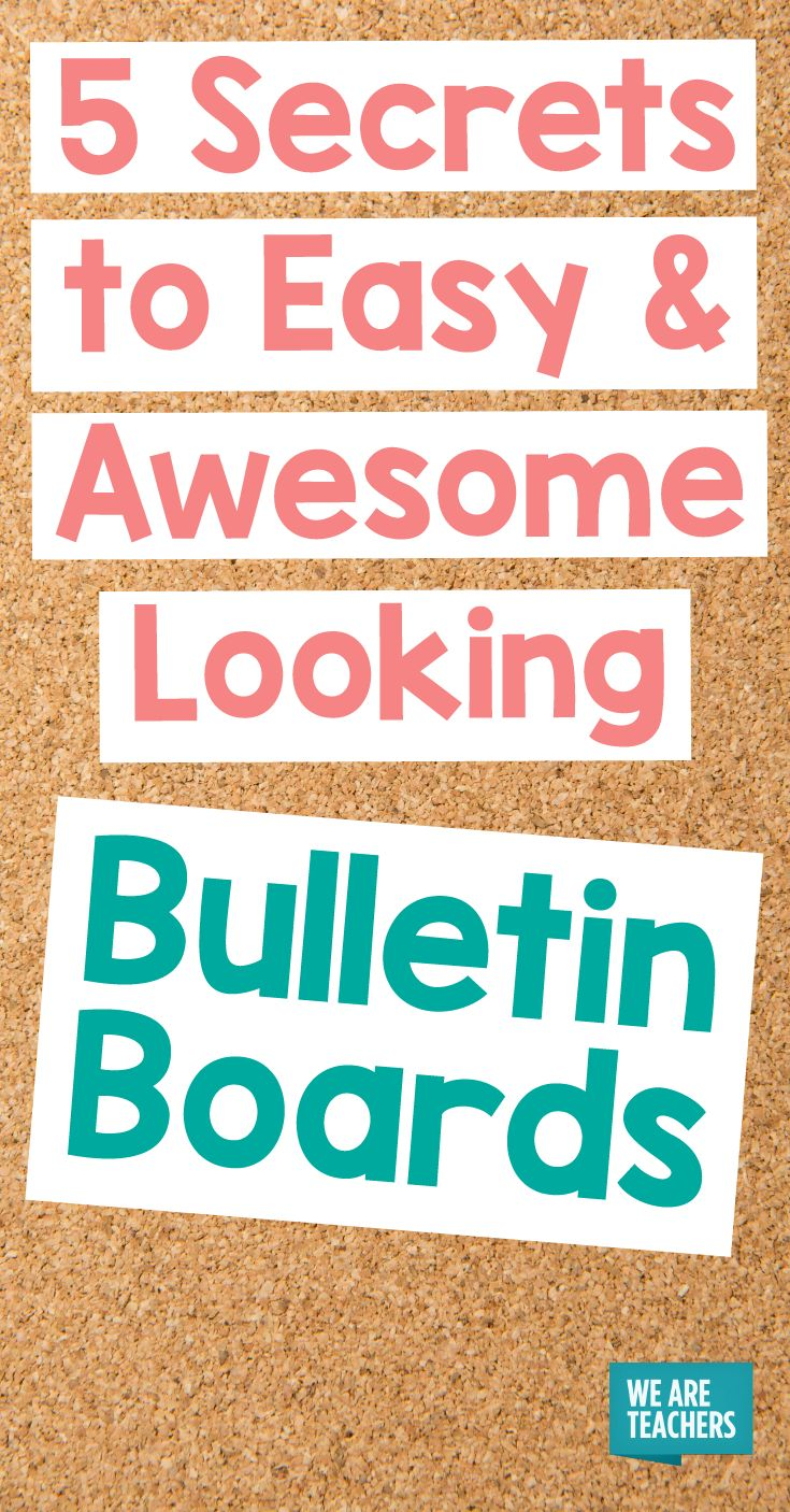 Easy Bulletin Boards for Your Classroom - 5 Secrets to Success