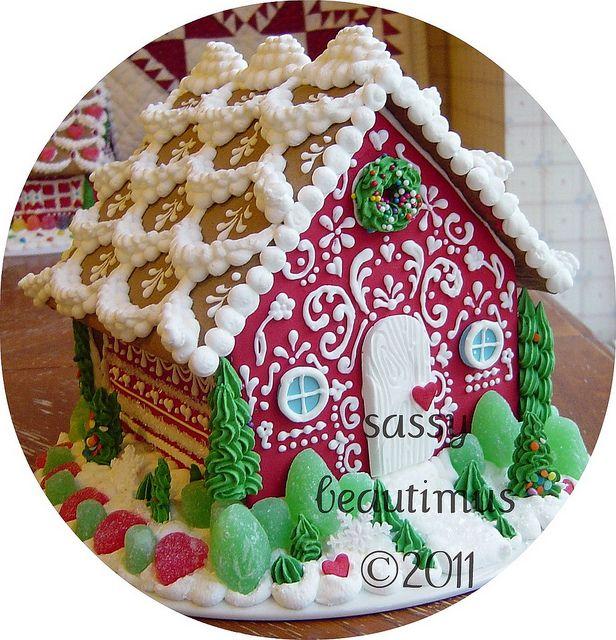 Beautiful gingerbread house!