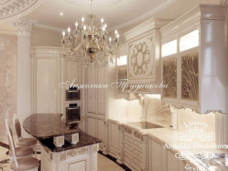 Дизайн проект интерьера загородного дома в Классическом стиле в г. Краснодар - фото