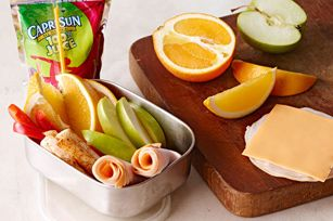 menú para picnic