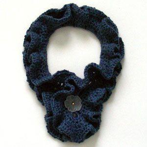 Crochet Pattern: Double Ruffle Cowl