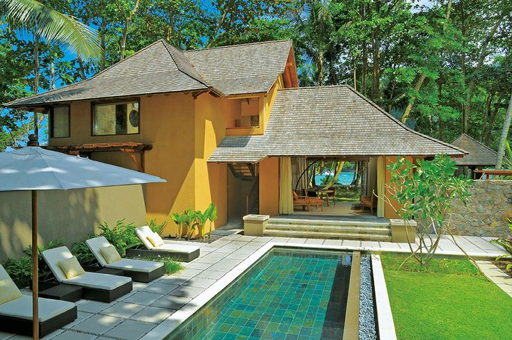 Beach Villa with pool, the best of both worlds at Constance Ephelia. http://indian-ocean-weddings.co.uk/weddings/seychelles/