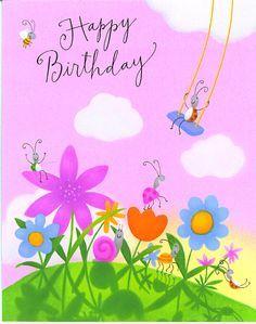 Cute Birthday Cards | free happy birthday greeting card animation