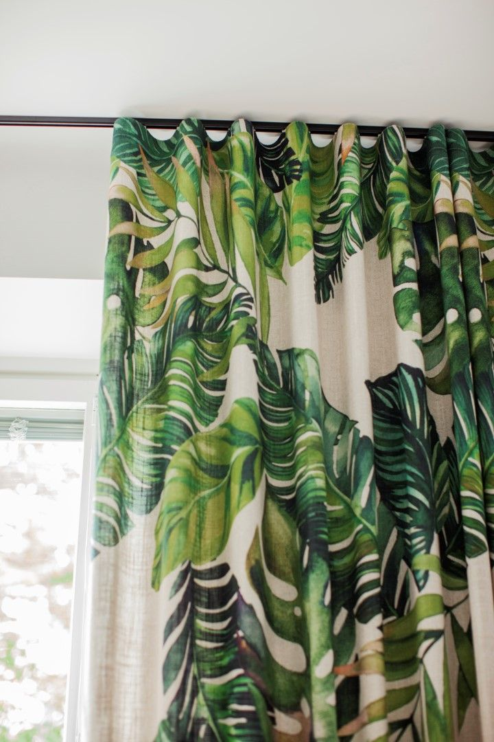 Jattilehti Eurokangas Printed Shower Curtain Shower Curtain Curtains