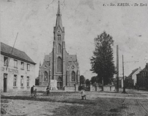 kerk sint-kruis vroeger