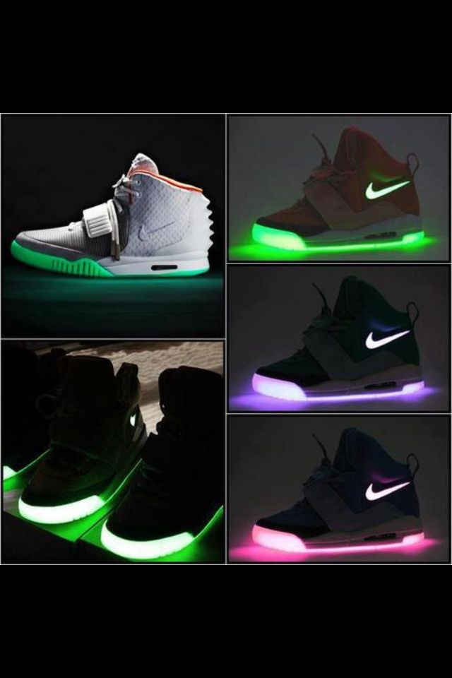 Light up Nikes for adults!