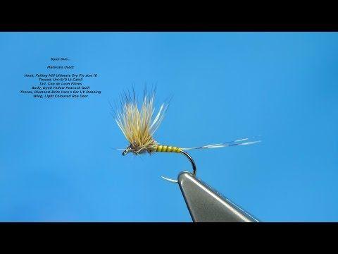 Tying a Spun Dun (Variant) with Davie McPhail - YouTube