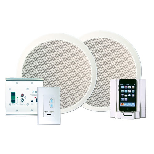One Room Iphone/Ipod Docking Station With Speakers