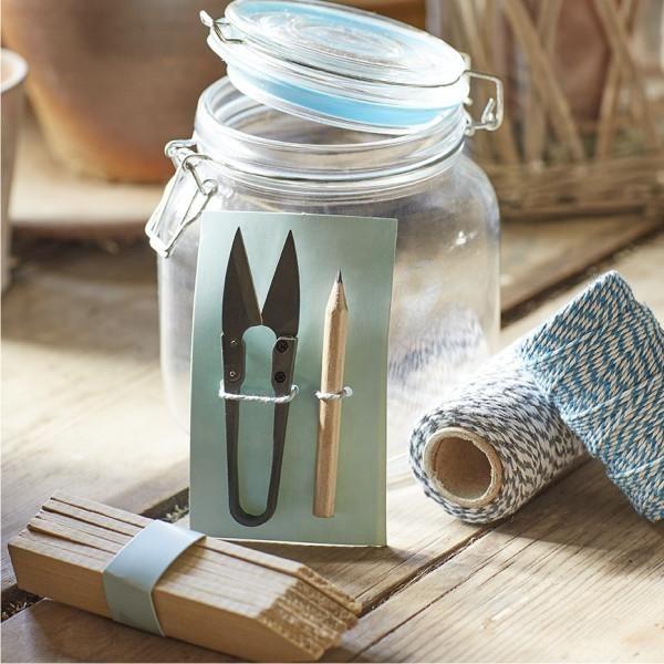 SOPHIE CONRAN | Gardener's Jar - Blue   GSC/JARBLUE
