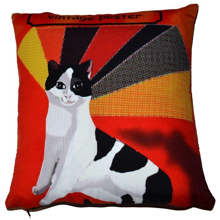 Designer decorative #Retro #pillow № gd306