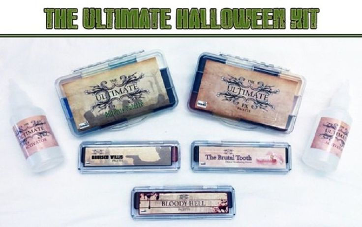 About $120, which is not cheap, except that it is alcohol activated, which usually sells for more.  However, if you live in USA, the post Brexit exchange rate makes this cheaper than usual for such a lot of stuff.  Dashbo Ultimate Halloween Kit (Alcohol Activated Makeup)  #Dashbo