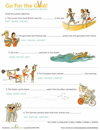 17 Best images about Comparatives/Superlatives on Pinterest | 3rd ...
