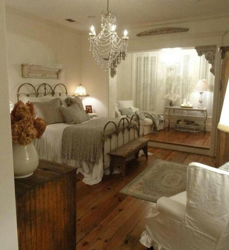 romantic country bedroom decorating ideas
