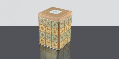 Lata Asia Dragon, Lata para conservar el té con con diseño inspirado en el legendario dragón chino