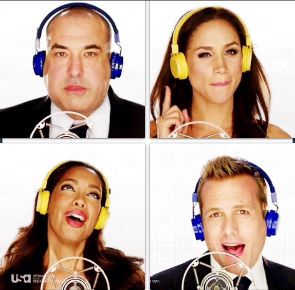 suits cast singing id love hear it suits tv series
