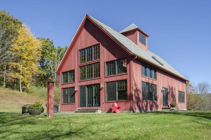 Pin By Charles Garrett On Vt Cabin In 2020 American Barn Barn House Barn Conversion