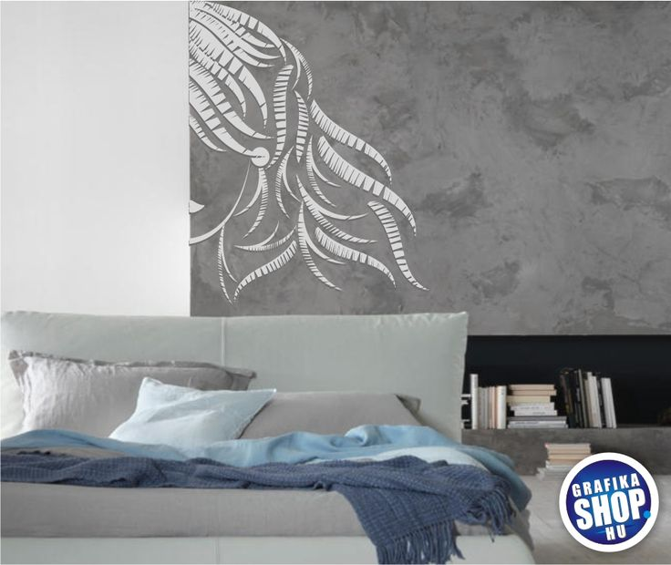 Ez a csajos matrica biztosan jól mutat a lányszobákban, falon vagy bútoron mindegy. Kitűnő választás szépségszalonba is. Kapható:2.600 Ft-tól