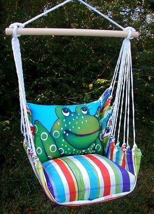Attractive Beach Boulevard Frog Hammock Chair Swing Set Ideas