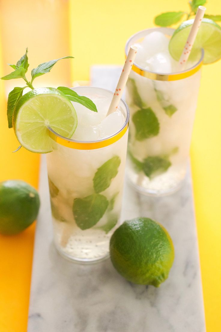 Ginger Beer Mojito Mocktail | BlissMakes