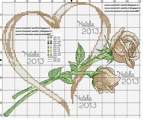 Creazioni-Natalia — «portafedi-rose-cuore-avorio.jpg» на Яндекс.Фотках